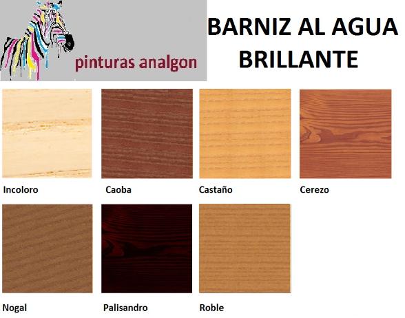 Analgon sl barnices tinte al agua for Restaurar puertas de madera interior