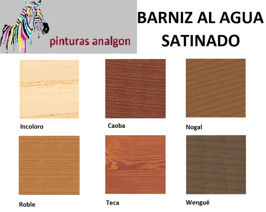 Analgon sl barnices tinte al agua - Barnices para madera exterior ...